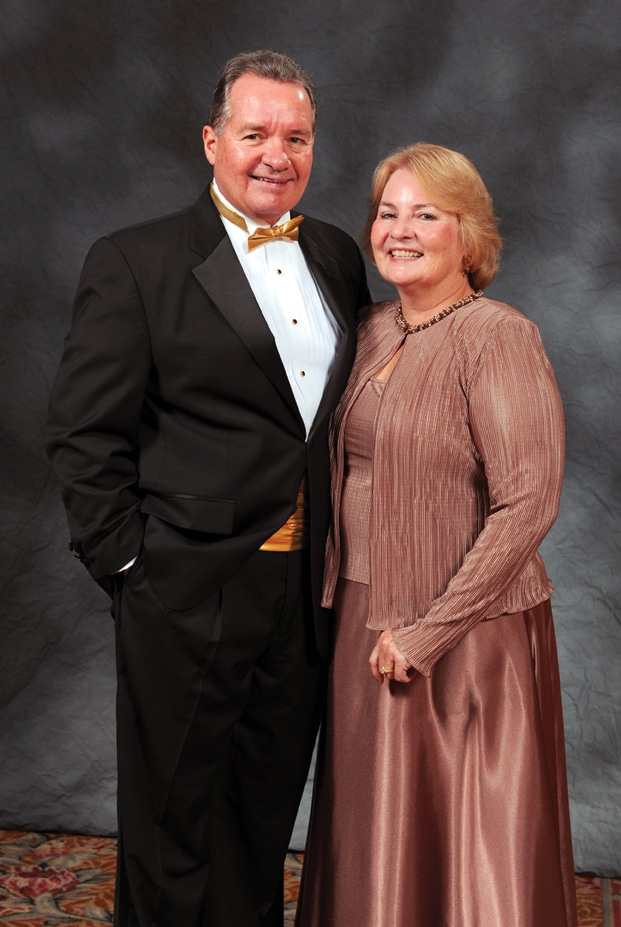 Tri City Medical Center CEO Larry Anderson and wife Shirley