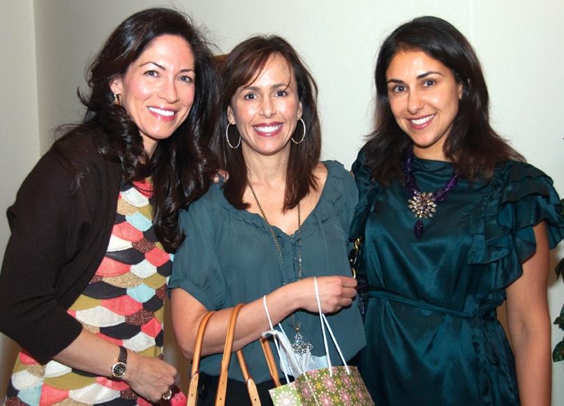 Tricia Faltinsky, Kristin Hahn and Shirin Raiszadeh