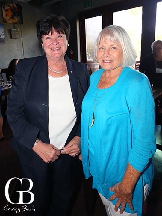 Trudy Armstrong and Carol Skiljan