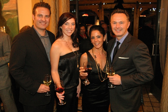 Tucker and Sarah Spear with Patricia Khoury and Brian Ahern.JPG
