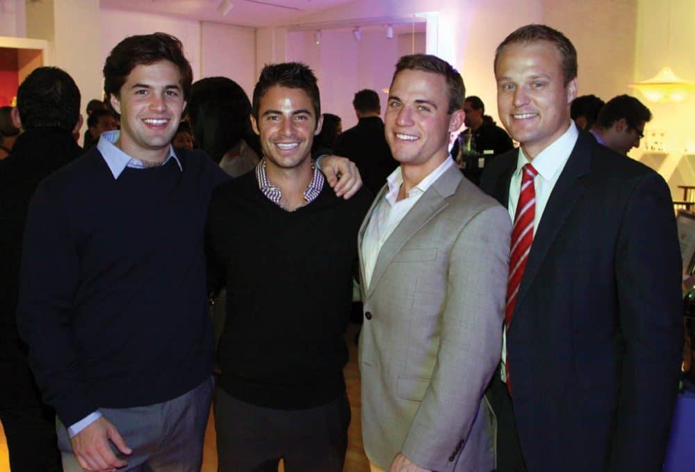 Tyler Smith, Justin Levine, Hunter Reed and Preston Cavignac.JPG