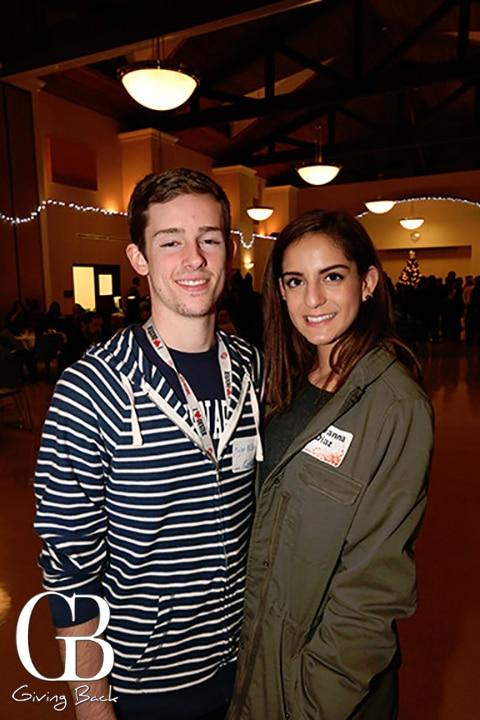 Tyler Allen and Giovanna Diaz