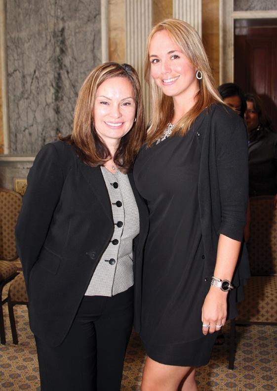 U.S. Treaurer Rosie Rios and Danitza Villanueva.JPG