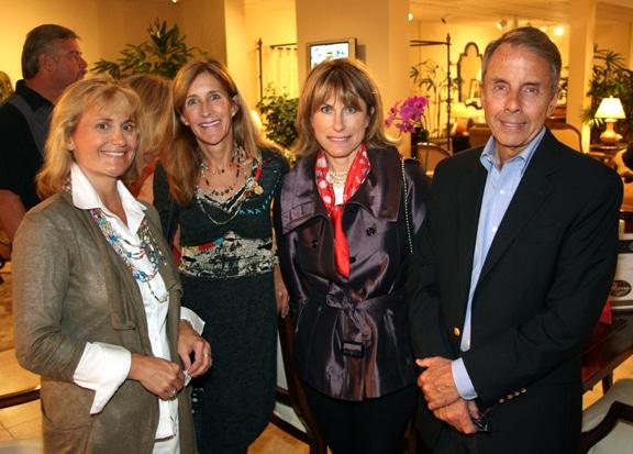 Uli Imhoff Heine, Nancy Shields, Colette Bolitho and George Guimaraes.JPG
