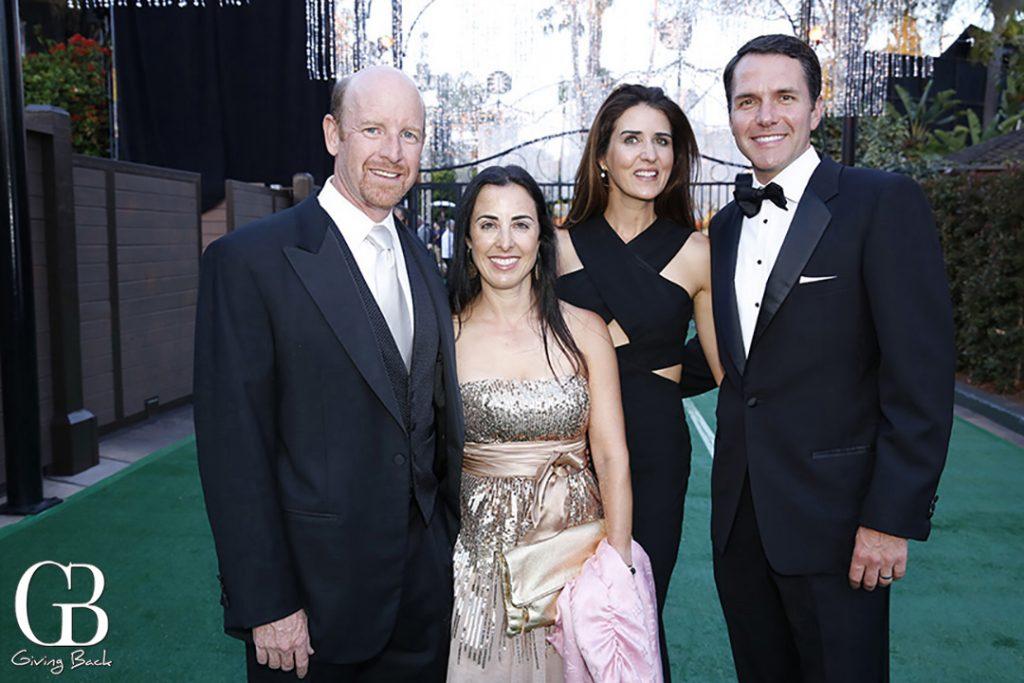 Uri and Linda Feldman with Lauren and Steve Simpson
