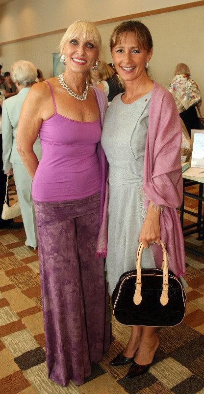Ursula Bramzon and Patricia Caruana.JPG