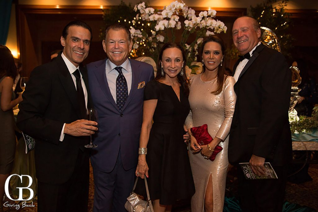 Vahid Moradi  David and Ginger Levy with Rocio and Mike Flynn