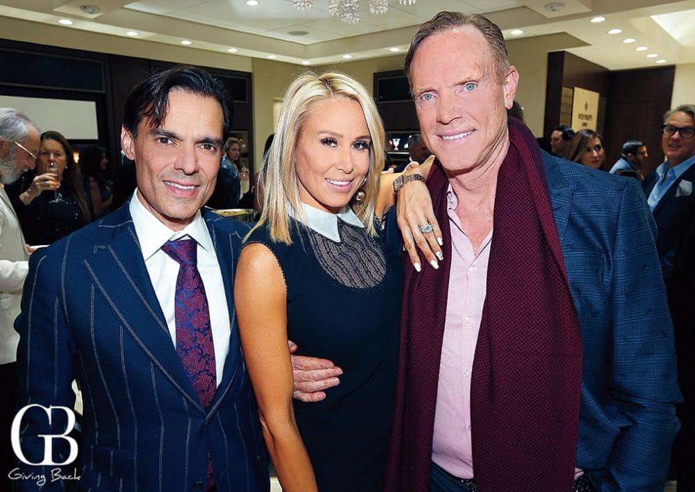 Vahid Moradi with Heidi and Russell Dixon