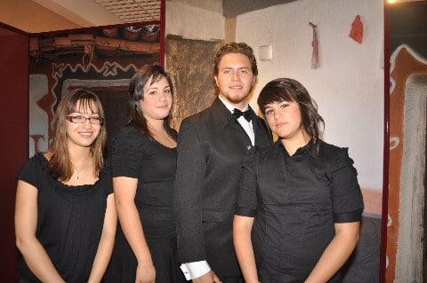 Valeria Sanchez, Samantha Flores, Rafael Eavallero and Stephanie Flores.JPG
