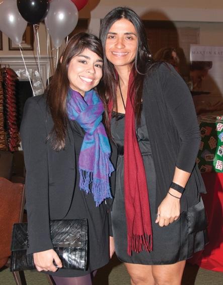 Vanessa Diaz and Tina Clarke