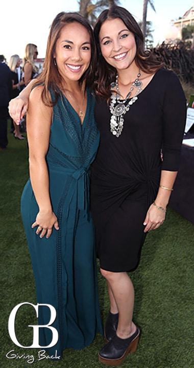 Vanessa Currie and Francesca Coniglio