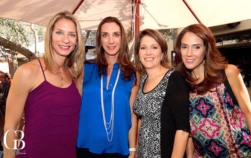 Vanessa dos Santos  Alejandra Pitachni  Laura Hadaya and Viviana Losano