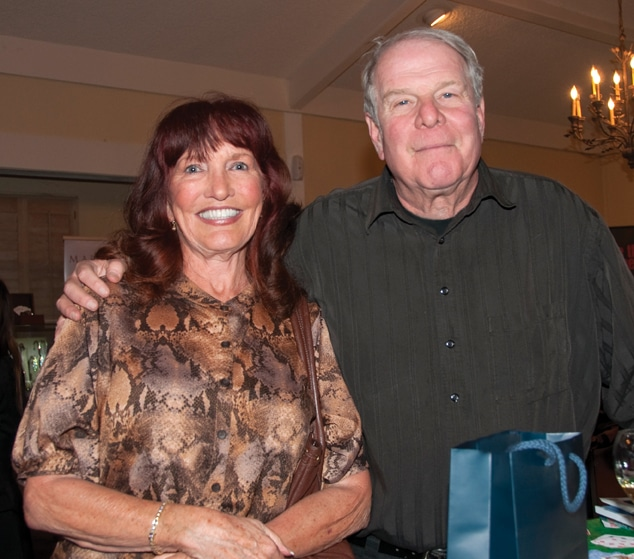 Veronica Daly and Richard Lederer