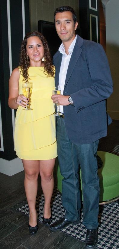 Veronica Yepez and Ignacio Ruelas +