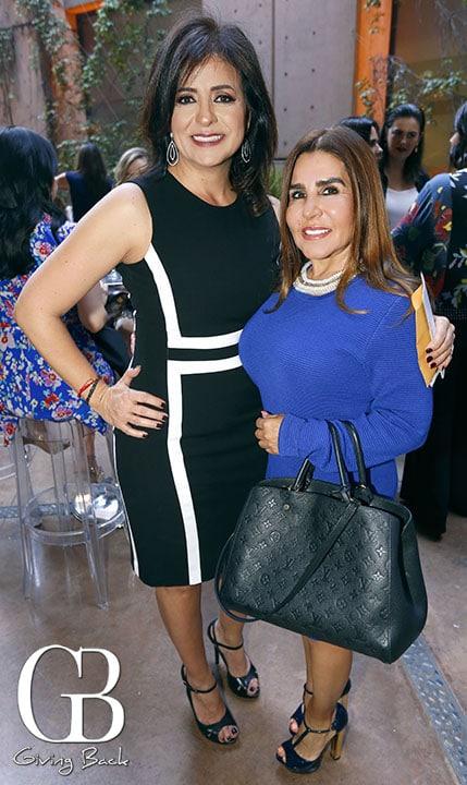Veronica Castellanos y Luz Elena Gomez