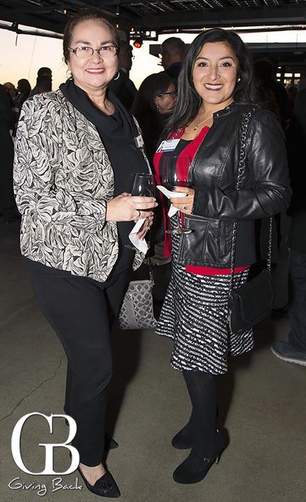 Veronica Giron Stone and Donna Batchelor
