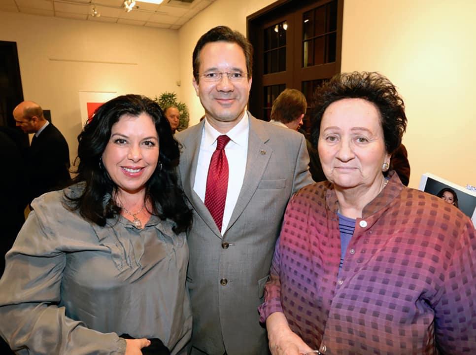 Veronica Jarque  Daniel Wood y Luz Maria Davila