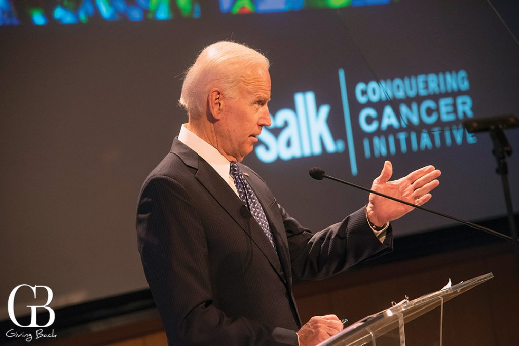 Vice President Biden at Salk Institute