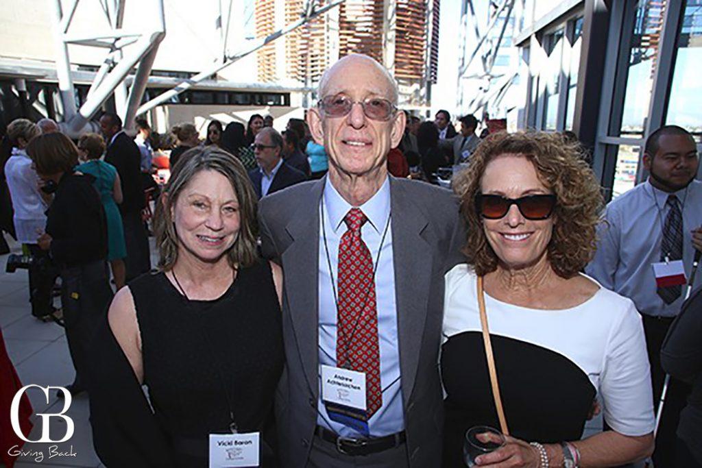 Vicki Baron  Andrew Achterkirchen and Linda Katz
