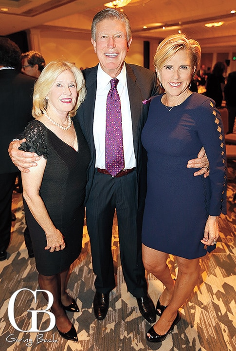 Vicki and Art Perry with Patty Contreras