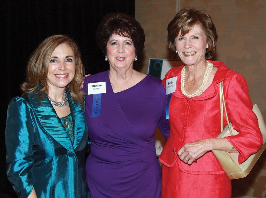 Vicky Carlson, Marilyn Sawyer and Betty Mohlenbrock.JPG