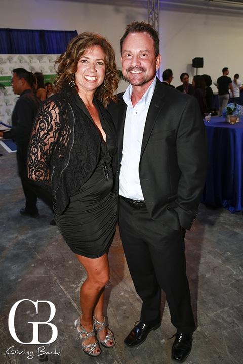 Vicky De Bruyn and Paul Sunseri