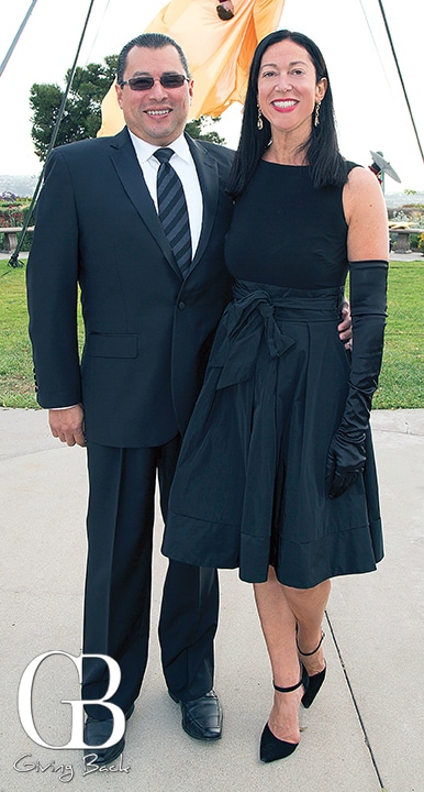 Victor Zuniga and Krista Lombardi