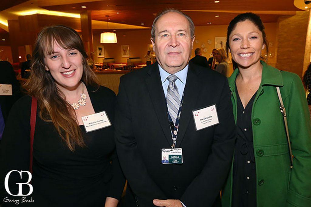 Victoria Garner  Harold Johns and Beth Van Eetveldt