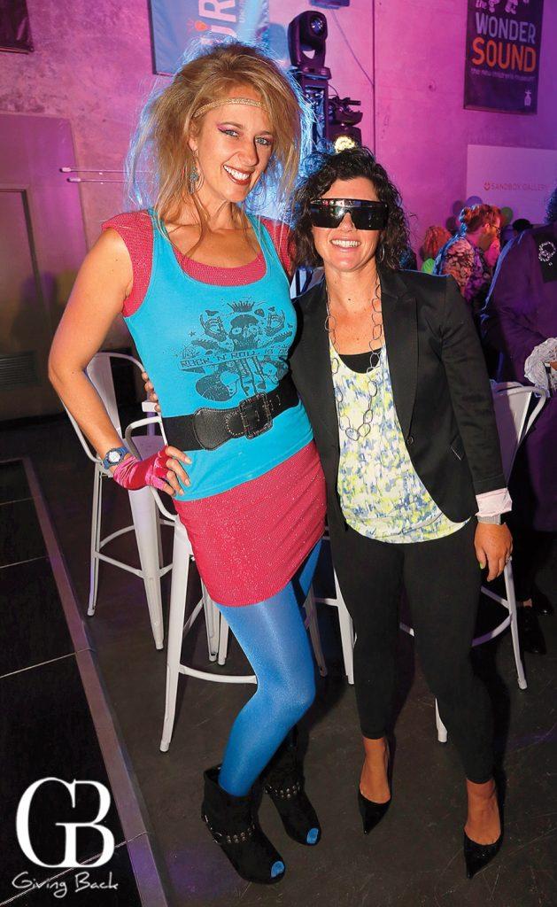 Victoria Robertson and Melanie Bermudez