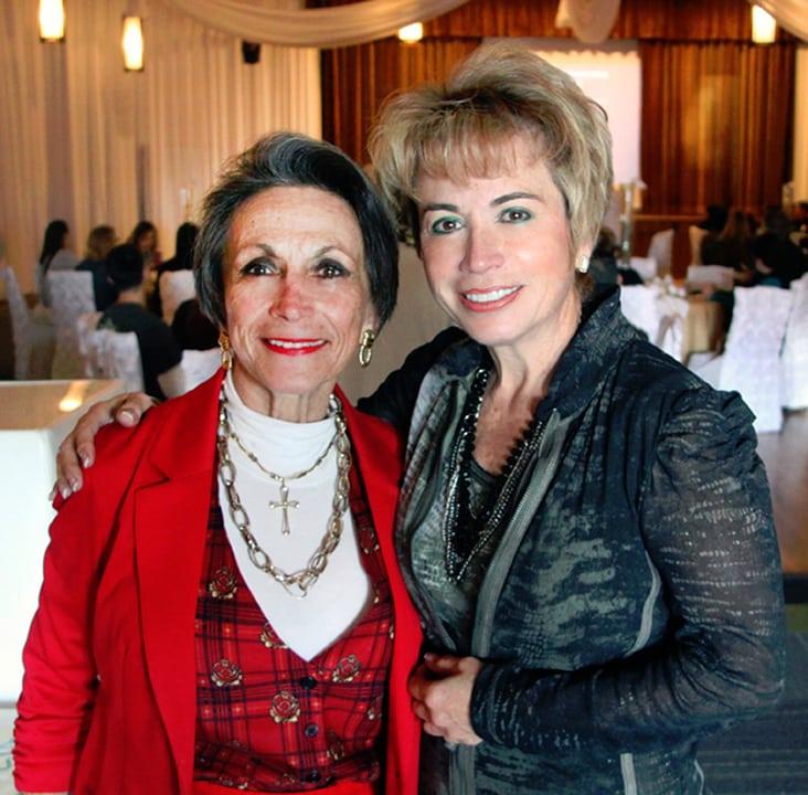 Victoria Rosas and Sylvia Gardon