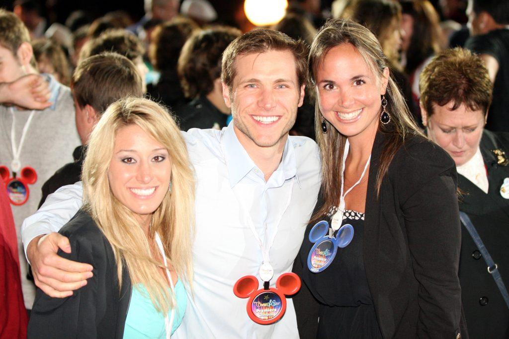 Vienna Girardi, Jake Pavelka and Danitza Villanueva.JPG