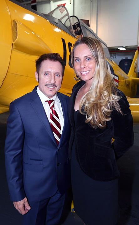 Vince Heald and Stephanie Brown