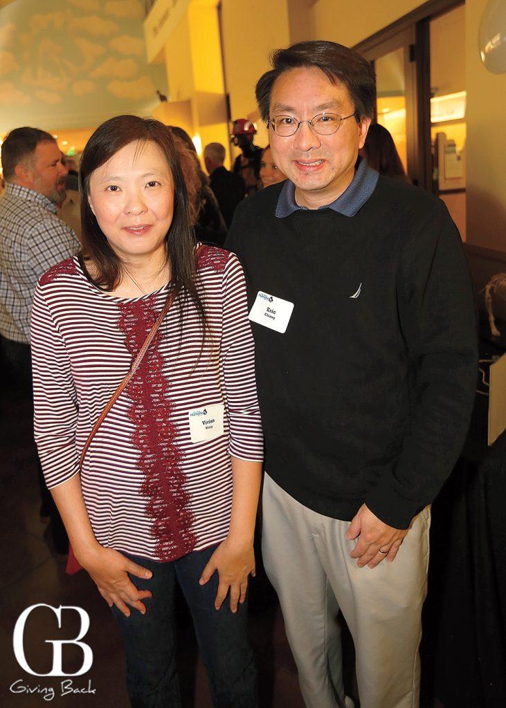 Vivian Wong and Eric Chiang