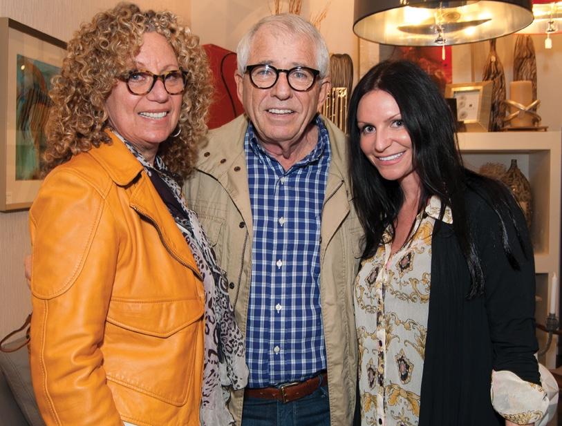 Vivien and Jeffery Ressler with Jacqueline Maddison