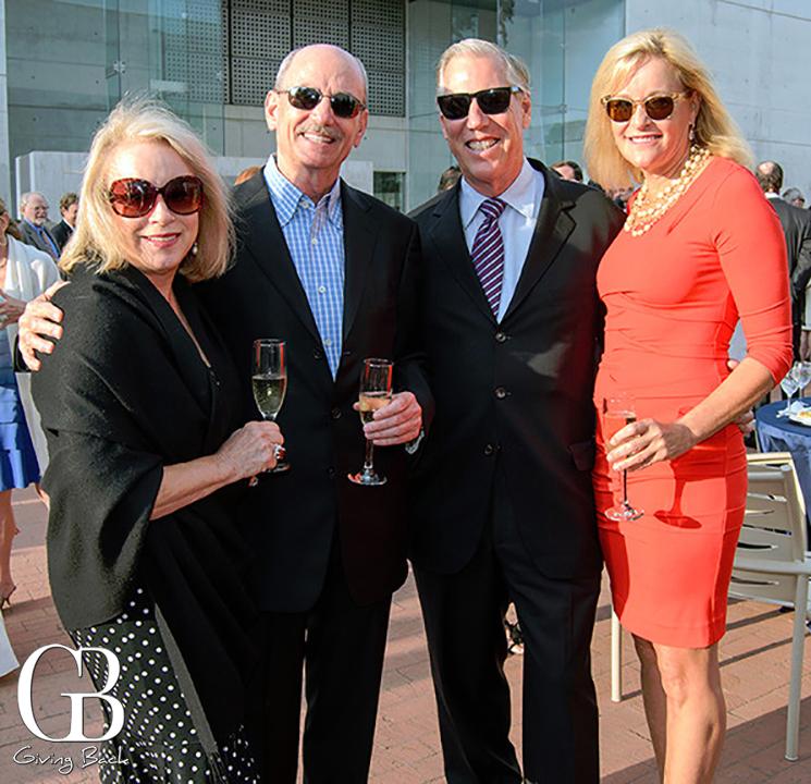 Wanda and Cam Garner with Scott Glenn and Mary Anne Sorge