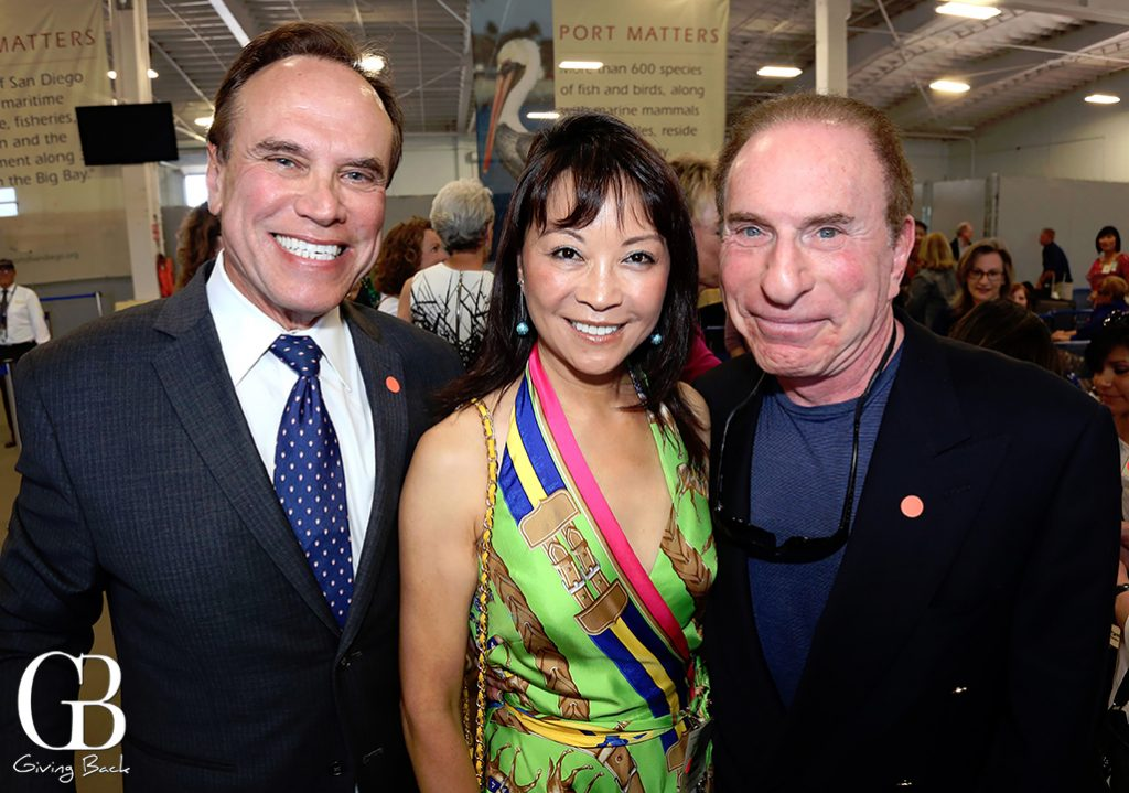 Ward Gil with June and Bob Schilman