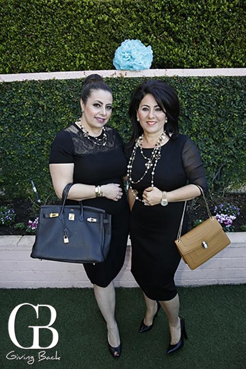 Wassan Benny and Huda Salem