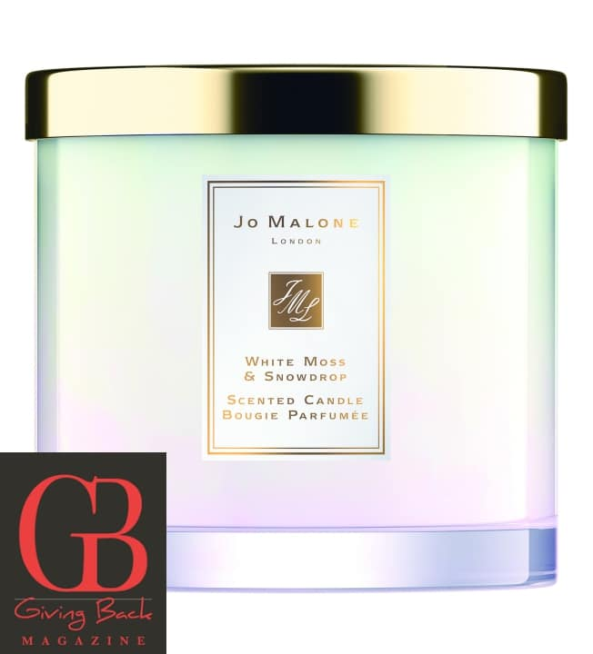 White Moss   Snowdrop Scented Candle by Jo Malone London