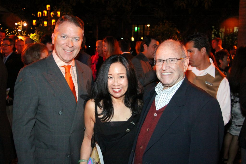 Will and Nora Newbern with Manny Kauder.JPG