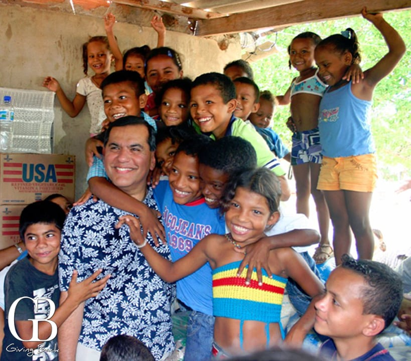 With children at Guajira  Colombia