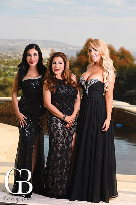Yocelyn  Luz Elena and Kimberly Gomez