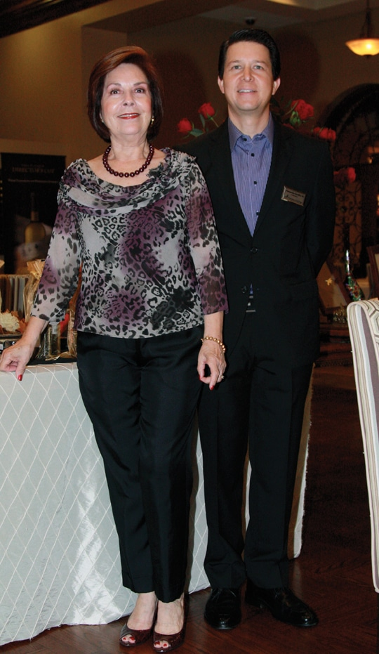 Yolanda Ingle and Fernando Carrillo