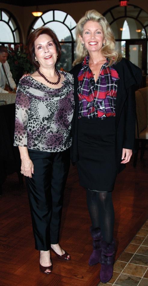 Yolanda Ingle and Jean Savard