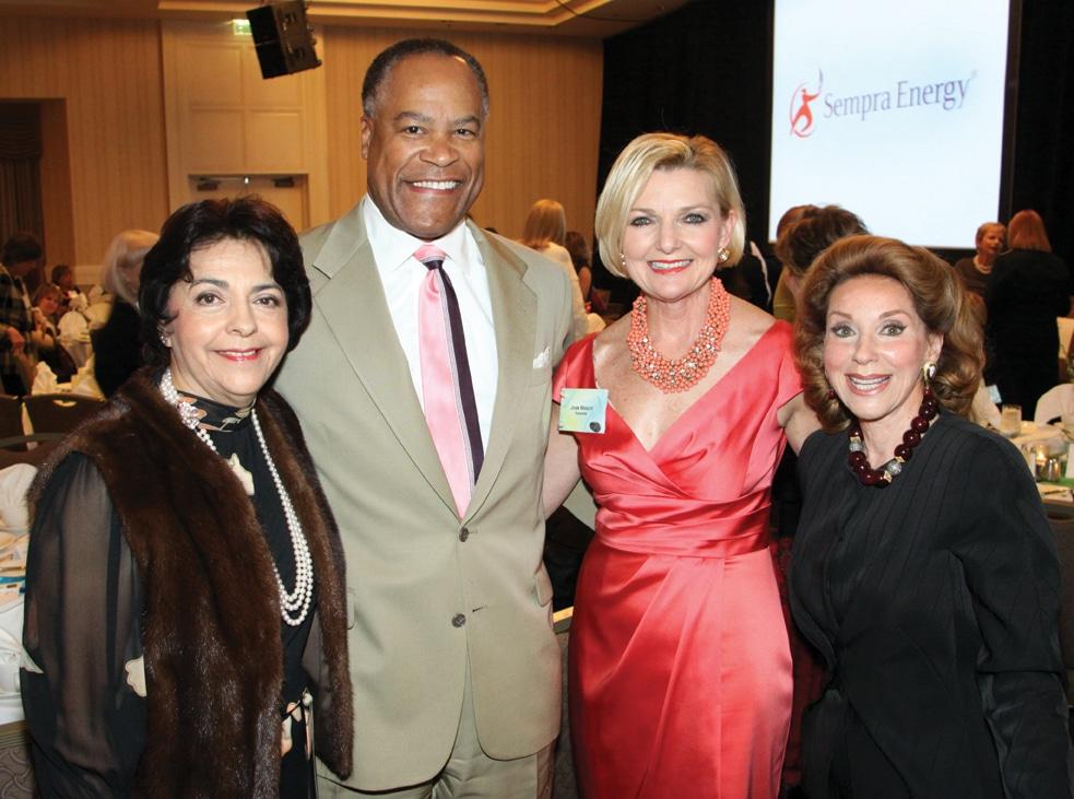 Yolanda Walter Meade, Jessie Knight, Joye Blount and Reena Horowitz.JPG