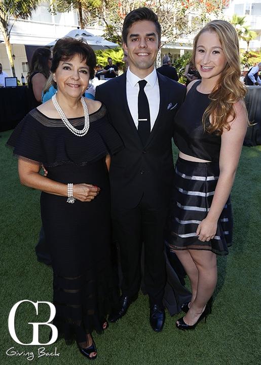 Yolanda Walther Meade  Carlos Ezquerro and Julianna Dauria
