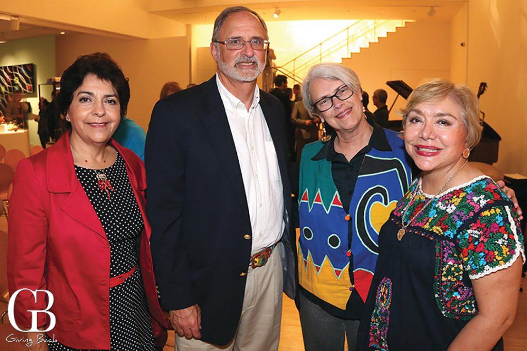 Yolanda Walther Meade  Charles Shapiro  Robin Dickerson and Elsa Arnaiz