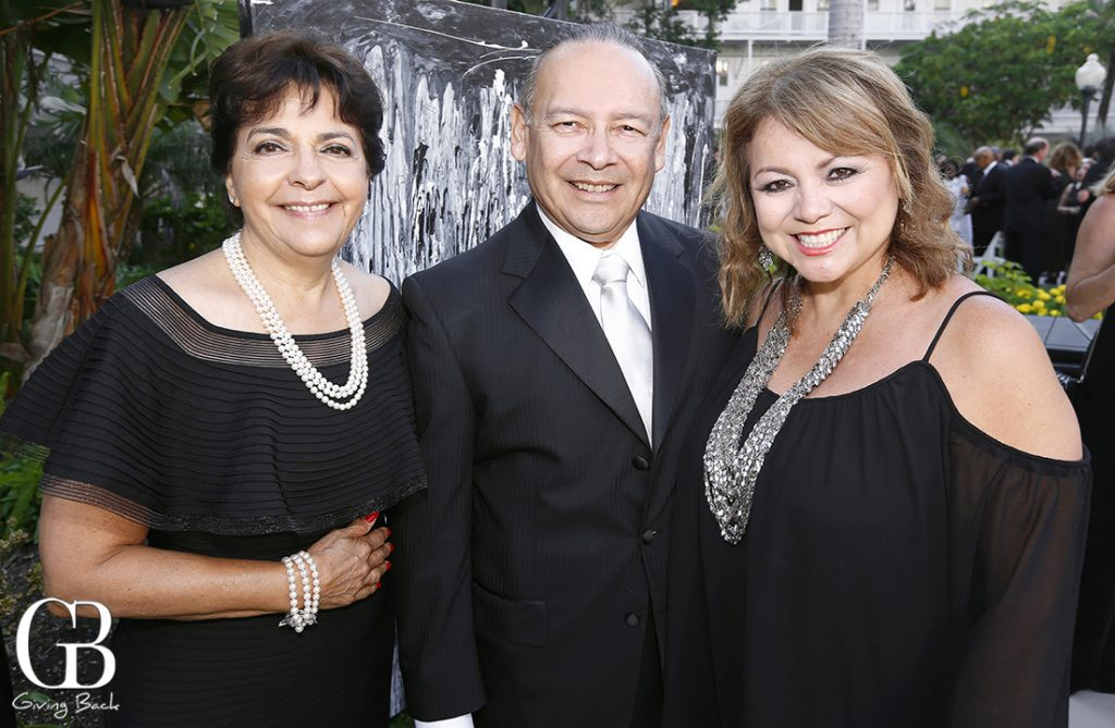 Yolanda Walther Meade with Ted and Lidia S. Martinez