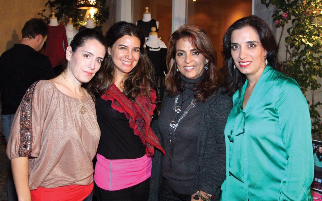 Yvette Nava, Isela Perez, Myriam Mamou y Maribel Haro.JPG