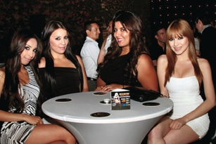 Yvonne Coronado, Karla Rodriguez, Xenia Magallones y Yvette Coronado