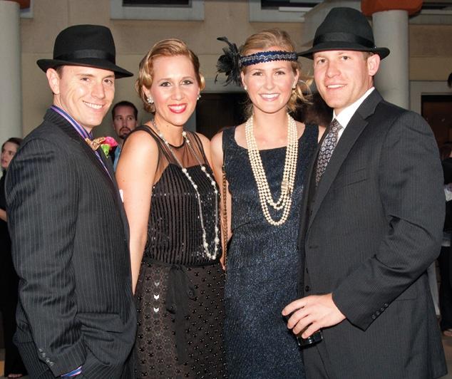 Zachary and Jennifer Millrood with Kelly Huston and Nik Bandak